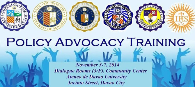 Policy Advocacy Training